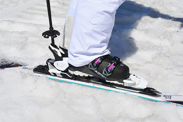 how to take off switchback bindings