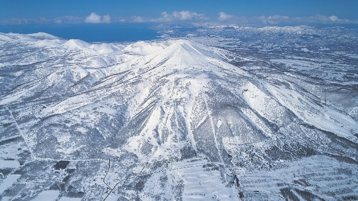 Niseko snow mount yotei Japan